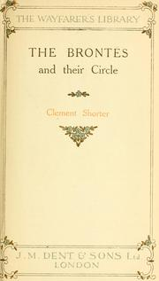 Cover of: The Brontës and their circle