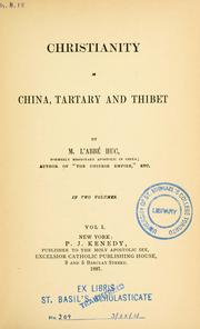 Cover of: Christianisme en Chine