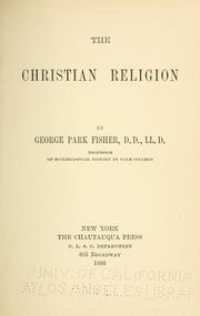 Cover of: The Christian religion