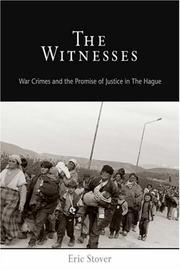Cover of: The Witnesses | Eric Stover