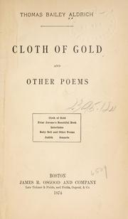 Cover of: Cloth of gold