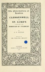 Cover of: Clerkenwell & St. Luke's