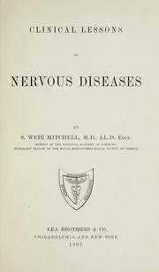 Cover of: Clinical lessons on nervous diseases