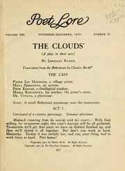 Cover of: The clouds