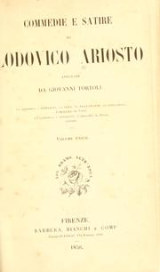 Cover of: Commedie e satire di Lodovico Ariosto