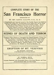 Cover of: Complete story of the San Francisco horror. | Linthicum, Richard