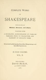 Cover of: Complete works of Shakespeare | William Shakespeare