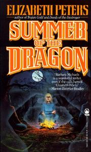 Cover of: Summer of the Dragon