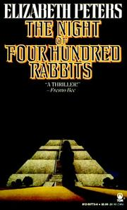 Cover of: The Night of Four Hundred Rabbits