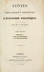 Illustrations of political economy by Martineau, Harriet