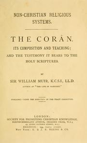 Cover of: The Corân