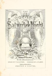 Cover of: The cotter's Saturday night