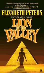 Cover of: Lion in the Valley