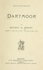 Dartmoor by Maurice H. Hervey
