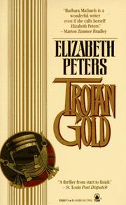 Cover of: Trojan Gold | Elizabeth Peters