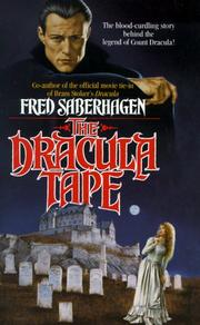 Cover of: The Dracula Tape