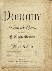 Dorothy by Alfred Cellier