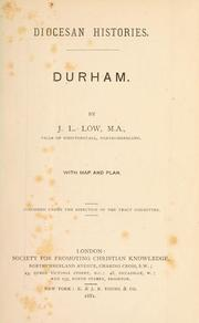 Cover of: Durham. | John Low Low