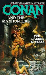 Cover of: Conan and the Manhunters