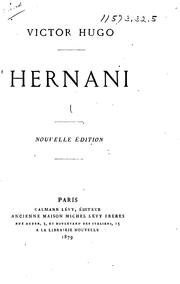 Cover of: Hernani by Victor Hugo
