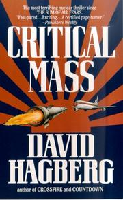 Cover of: Critical Mass (McGarvey)