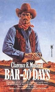 Cover of: Bar-20 Days (Bar-20) | Clarence E. Mulford