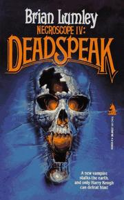 Cover of: Necroscope 4: Deadspeak