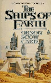 Cover of: The Ships of Earth: Homecoming | Orson Scott Card