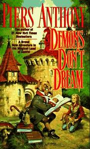 Cover of: Demons Don't Dream (Xanth) by Piers Anthony