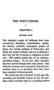 Cover of: The Forty-niners: A Chronicle of the California Trail and El Dorado