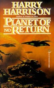 Cover of: Planet of no return