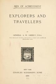 Cover of: Explorers and travellers | Adolphus Washington Greely