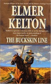 Cover of: The Buckskin Line (Texas Rangers) | Elmer Kelton