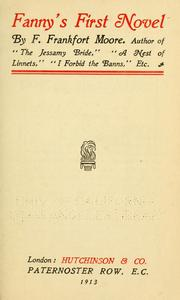 Cover of: Fanny's first novel