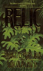 Cover of: The Relic (Pendergast, Book 1)