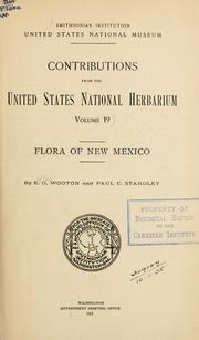Cover of: Flora of New Mexico