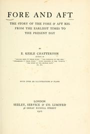 Cover of: Fore and aft