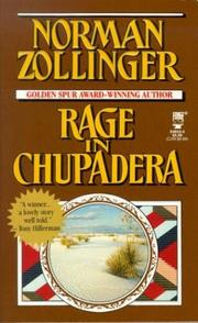 Cover of: Rage in Chupadera