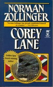 Cover of: Corey Lane