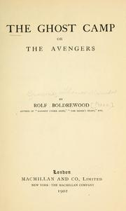 Cover of: The ghost camp: or, The avengers
