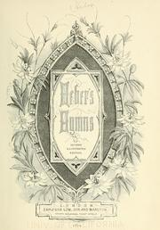 Cover of: Heber's hymns: illustrated.