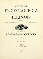 Cover of: Historical encyclopedia of Illinois | Newton Bateman