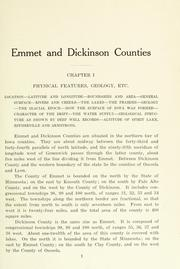 Cover of: History of Emmet County and Dickinson County, Iowa |