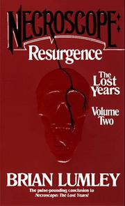 Cover of: Necroscope: Resurgence: The Lost Years: Volume Two (Necroscope: The Lost Years)