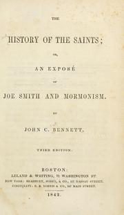 Cover of: The history of the saints