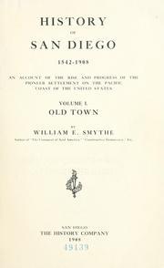 History of San Diego, 1542-1908