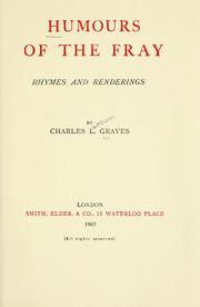Cover of: Humours of the fray