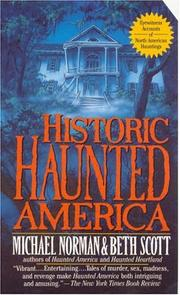 Cover of: Historic Haunted America | Michael Norman