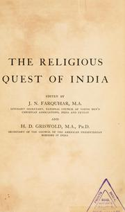Cover of: Indian theism from the Vedic to the Muhammadan period