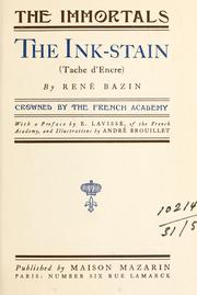 Cover of: The ink-stain (Tache d'encre)  With a pref. by E. Lavisse and illus. by André Brouillet